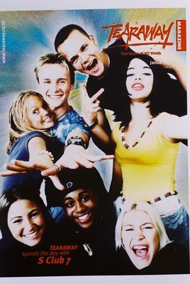 Tearaway Throwback! (With S Club 7 on the cover!)