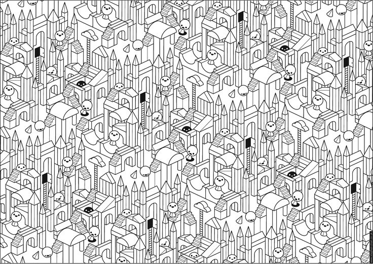 40 best Coloring Pages images on Pinterest Coloring books, Print - new difficult pattern coloring pages