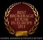 2011 Best Brokerage House in Europe, Global Banking & Finance Review.  XTB dal 2002 abbiamo cercato di sviluppare continuamente le relazioni di successo con I nostri clienti fornendo costantemente un alto livello di risposta, servizio di alta qualità che I nostri clienti meritano. Siamo orgogliosi che la nostra dedizione al cliente ci abbia portato una serie di prestigiosi riconoscimenti europei.