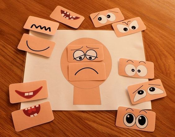 Make different emotions faces.  A great activity with lots of description, tips and suggestions to make the most of this idea.  Read more at:  http://www.elsa-support.co.uk/make-a-face-activities/