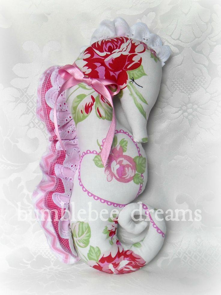 Handmade seahorse softie  https://www.facebook.com/bumblebeedreams