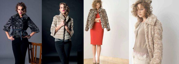 10 tendenze moda Autunno Inverno 2014/15: PELLICCIA ECOLOGICA Punto Blu Boutique - Tarquinia