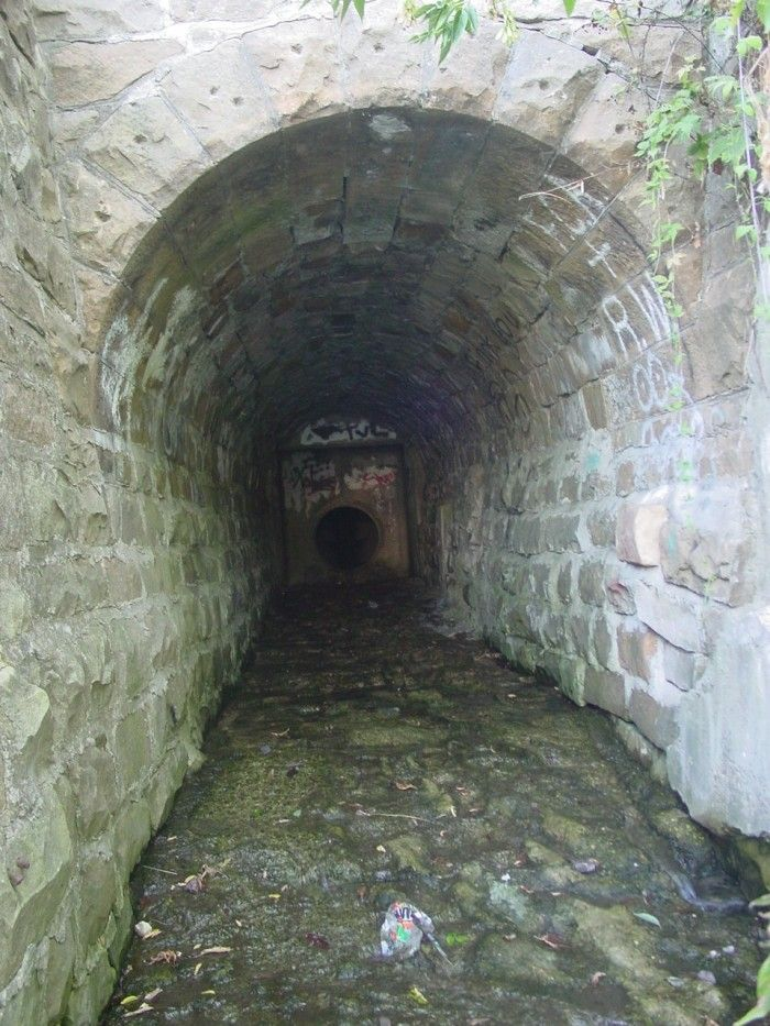 2. This spooky tunnel in Janesville
