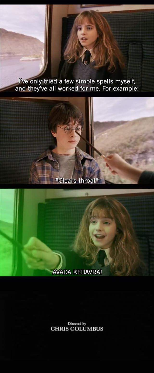 Harry Potter alternate ending Should not have laughed as hard as I did at this
