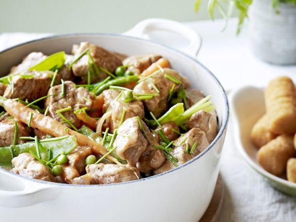 Varkensstoofpotje met groenten - Libelle Lekker!