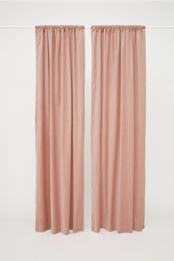 2 Pack Velvet Curtain Panels Velvet Curtains Layered Curtains