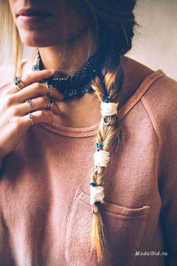 Модные прически: Прически в стиле бохо: фото и мастер-классы
