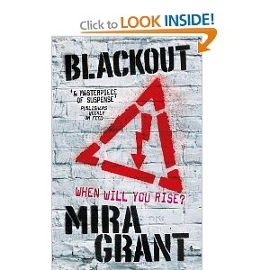 Blackout: The Newsflesh Trilogy: Book 3. Still reading this. Was bit thrown by the beginning and wondered how she was going to resolve it, but god she's doing an amazing job. Brilliant trilogy from start to finish.