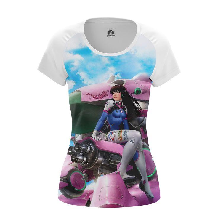 cool Girls T-shirt Dva Overwatch Collectibles Merch