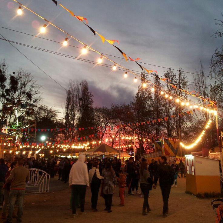 Circo, fiestas patrias. Chile.