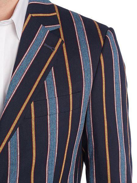 Rowan stripe boating blazer