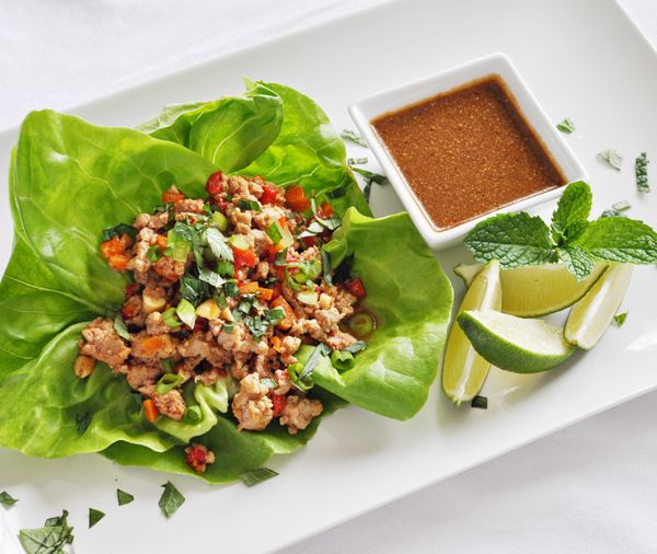 umm, yeah. I'll be making these soon. Lettuce wraps are about my favorite thing in the world.