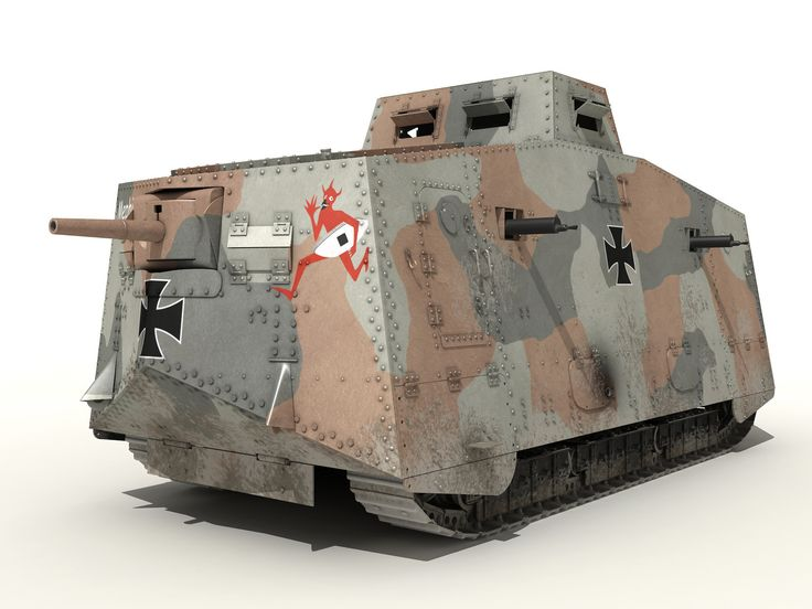 a7v tanks 3d max | Tanks | Ww1 tanks, Model tanks и Wwi