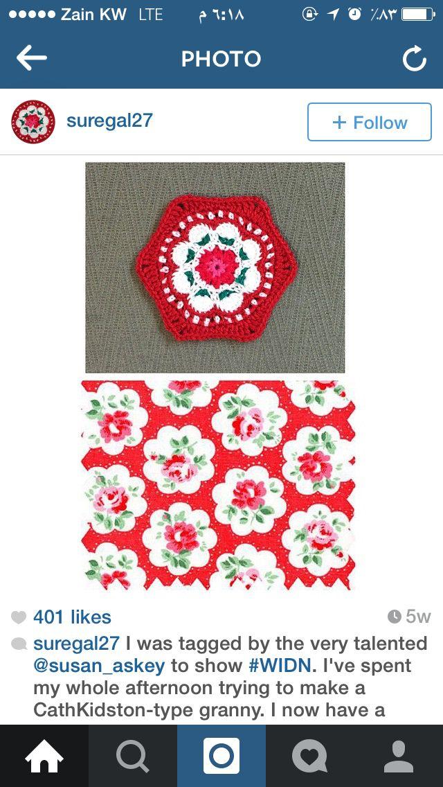 How to crochet Cathkidston 3 parts