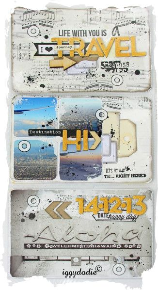 Kit Project Life de Janvier : les pages - Scrappadingue - Le scrap d Elodie Touzet iggydodie