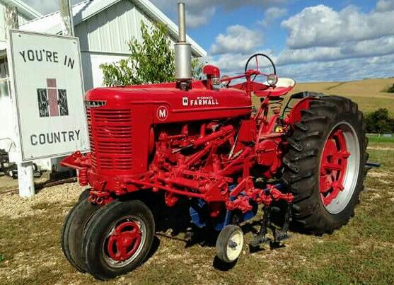 M FARMALL with Cultivators