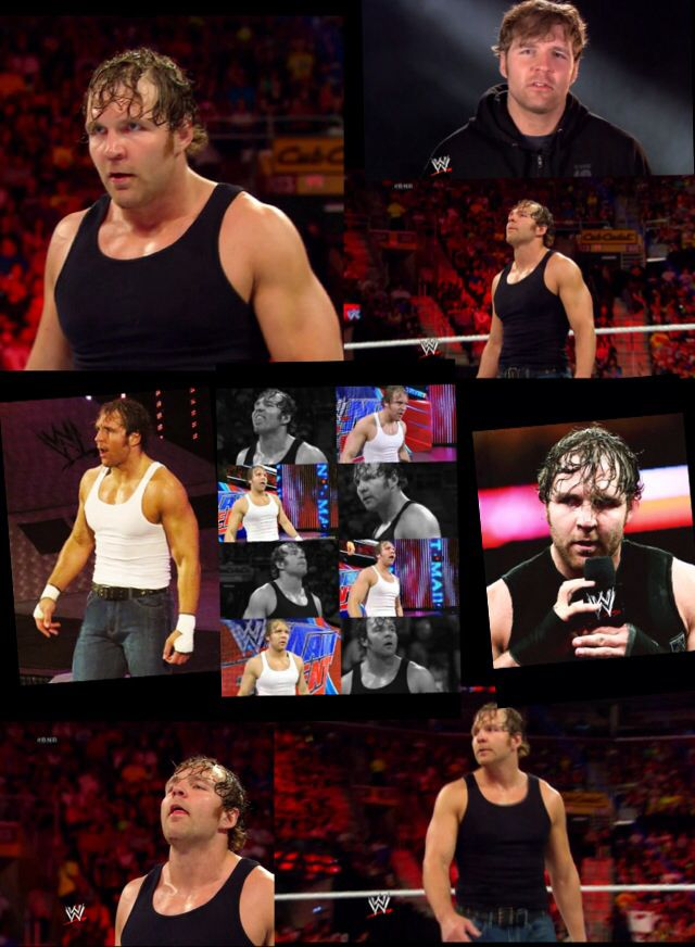 Dang I just love this picture of Dean Ambrose!