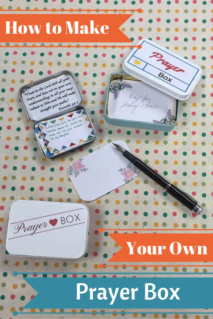 25 Best Ideas About Prayer Box On Pinterest Secret