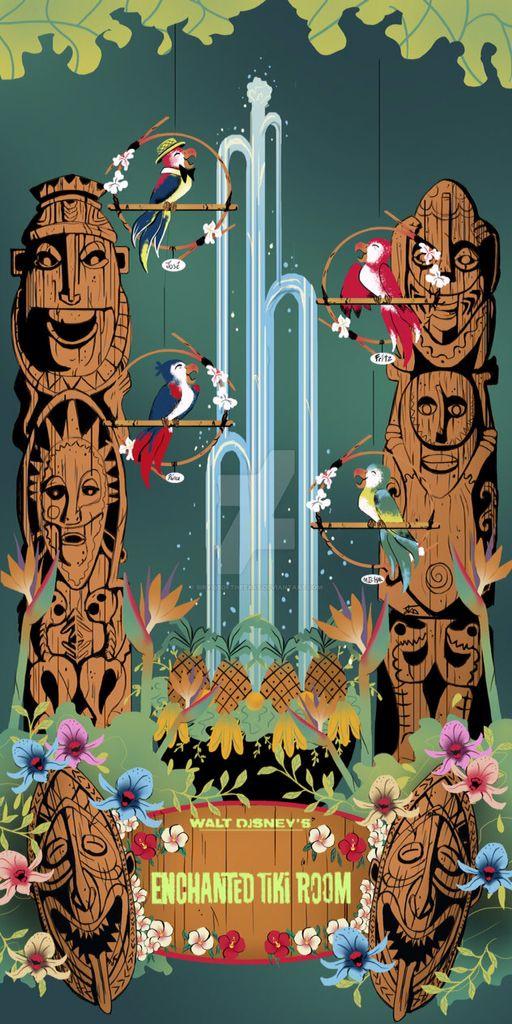 In The Tiki Tiki Tiki Tiki Room.... Admit it, you just sang it