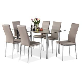 Koda 7-Piece Dining Package – Taupe
