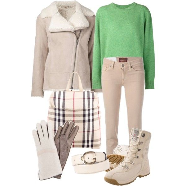 A fashion look from November 2014 featuring The Elder Statesman sweaters, Sofie D'hoore jackets and Helly Hansen boots. Browse and shop related looks.