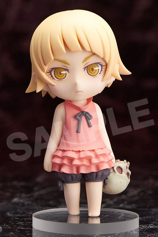 "Cute isn't the first word that comes to anyone's mind when fans think of the deadly Kiss-Shot Acerola-Orion Heart-Under-Blade from the Monogatari series - but when she was younger, it was a completely different story! From Aniplex's Chara Forme Plus comes this adorable 4"" figure of Kiss when she was a child!  Sculptor Hachimaru captured every detail perfectly - from the stoic expression that gives... #tokyootakumode #figure #Monogatari_Series"