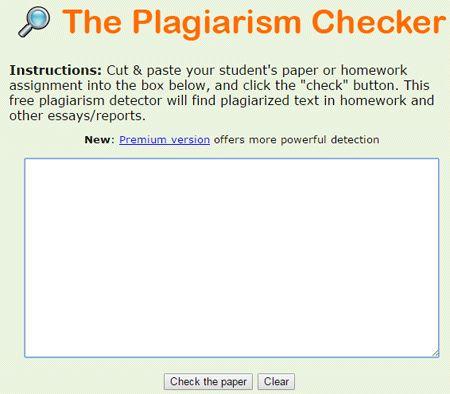 academic writing plagiarism checker