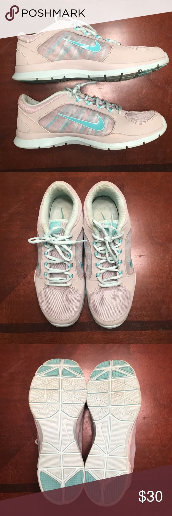 Nike Training Shoes Worn once! Perfect condition just don't wear them. Nike Shoes Athletic Shoes