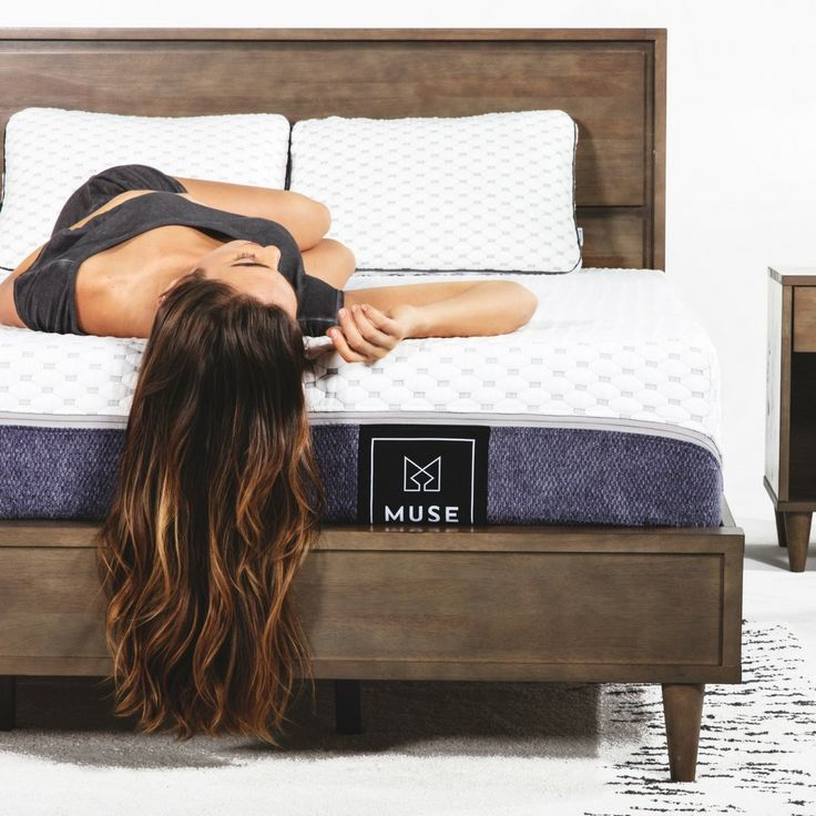 Muse King Mattress Firm Comfort Level Cooling Gel Infused Foam Sleeps Cooler