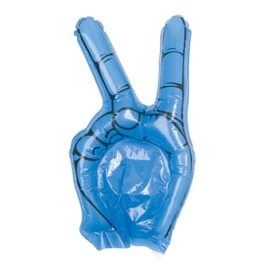Sustine-ti echipa!   7 RON  Mana gonflabila pentru suporteri, speciala pentru a sustine echipa favorita!