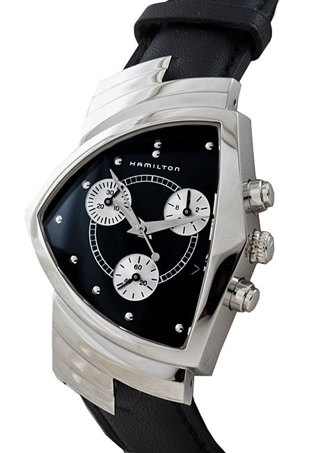The watch of my dreams. Sargent Baptista wore a Hamilton Ventura watch on the show Dexter.