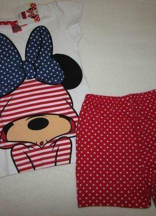 Kup mój przedmiot na #vintedpl http://www.vinted.pl/odziez-dziecieca/dziewczynki-bielizna/12456657-pizama-dziewczeca-z-myszka-minnie