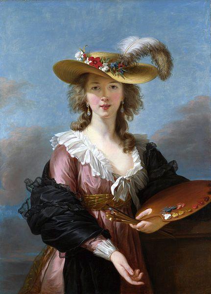 Louise Élisabeth Vigée Le Brun. Court painter for Marie Antoinette. Relative on Maternal Grandmother's side.