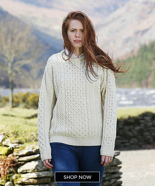 The irish store discount code! The Aran sweater is an iconic and beautiful traditional Irish item. Here are 9 things you should know before you buy and Aran sweater.