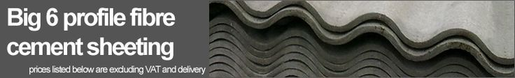 Fibre Cement from Steel Roofing Sheets
