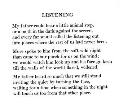by William Stafford