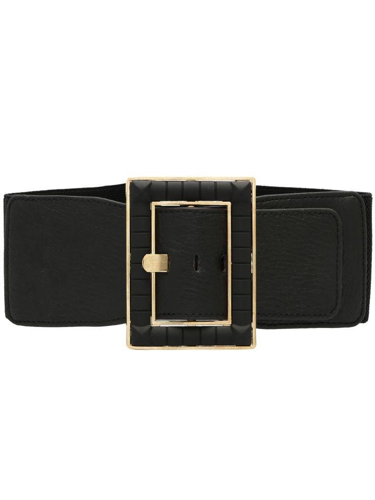 Cinturón metal hebilla-(Sheinside)