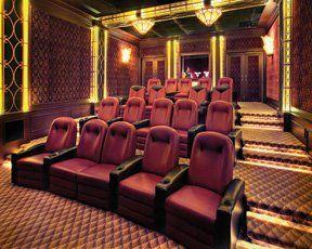 Private cinema room