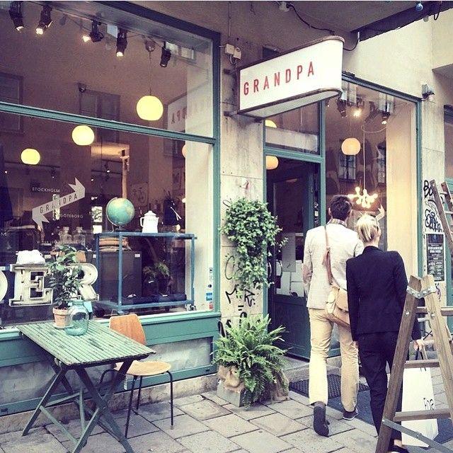 Grandpa, Stockholm. A cool shop.