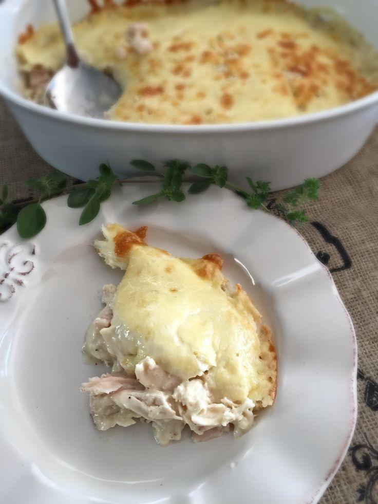 Guiso de Pollo Cordon Bleu, delicioso, lleno de sabor, vale la pena hacerlo! www.lavidaesdulce.net