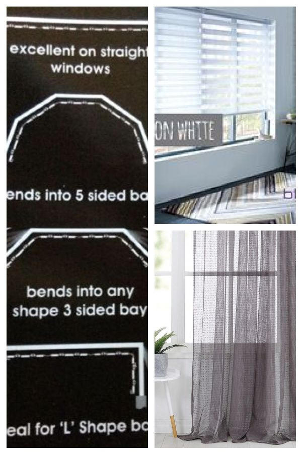 Details Zu Flexi Net Curtain Rod Flexibel Fur Alle Formen Von Erker Und Geraden Fenstern 475cm Cool Curtains Net Curtains Curtain Rods