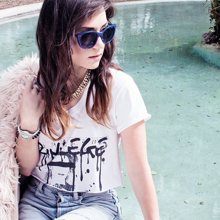 Roma, Dolce Vita - Martina Mercedes Corradetti - Meet The Bloggers - Vogue Eyewear