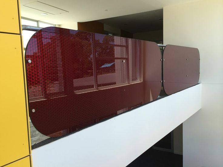 Decorative & stable panel designs - shown here at Boronia College.