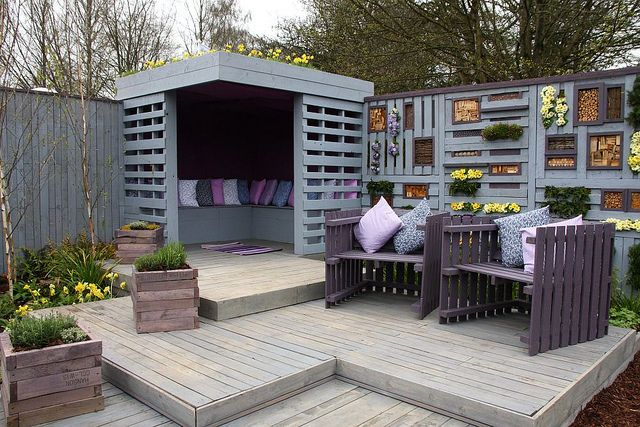 Up-Cycle Show Garden - RHS Cardiff 2013 by dorsetbays, via Flickr