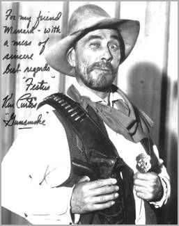 "Ken Curtis (Actor) famous for his portrayal of ""Festus"" on Gunsmoke also did movies and at one time was a singer with Tommy Dorsey Orchestra   1916-1991"