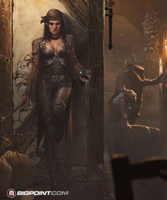Seafight: Pirate Tavern - by Grzegorz Rutkowski