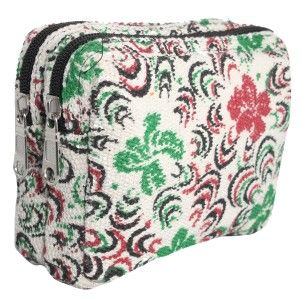 Thick Cotton Double Chamber Purse