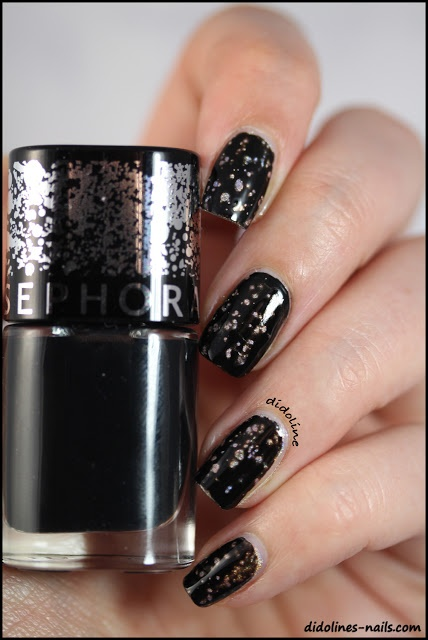 Sephora - Arty Pois (Perfect dupe of OPI Black Spotted)