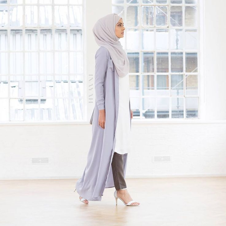 INAYAH | Pale Blue Long Shirt #Abaya + Feather Grey Georgette #Hijab #inayahclothing #modeststyle #modesty #modestfashion #hijabfashion #hijabi #hijabifashion #covered #Hijab #jacket #midi #dress #dresses #islamicfashion #modestfashion #modesty #modeststreestfashion #hijabfashion #modeststreetstyle #modestclothing #modestwear #ootd #cardigan #springfashion #INAYAH #covereddresses #scarves #hijab #style
