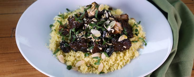 Michael's Pork Shoulder w/ Olives & Couscous